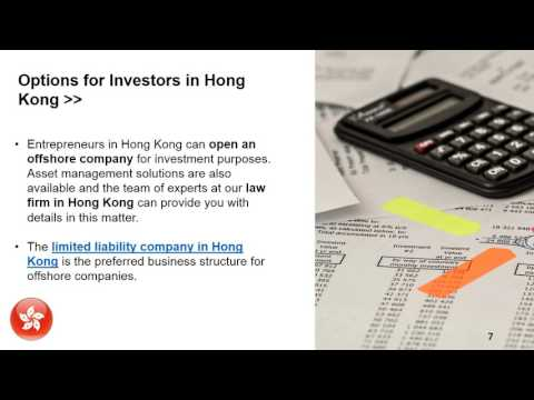 Taxes for Offshore Companies in Hong Kong
