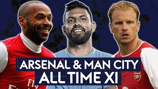 Thierry, Aguero or Bergkamp? Which TWO do you pick? | Arsenal v Man City | All Time XI
