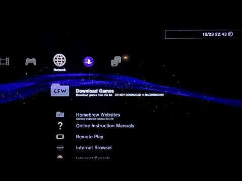 Penampakan PS3 CFW 4 83 OverFlow Cobra 7.55