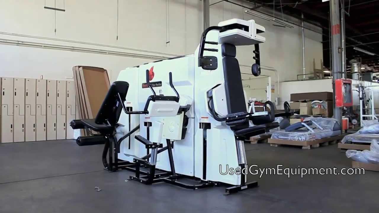 nautilus multi exercise machine
