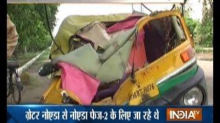 4 Killed as Dumper Mows Down an Auto-rickshaw in Greater Noida