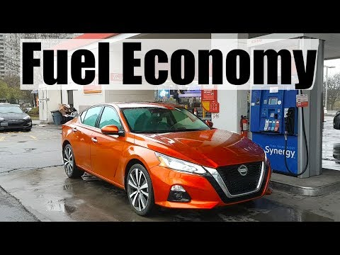 2019 Nissan Altima - Fuel Economy MPG Review + Fill Up Costs