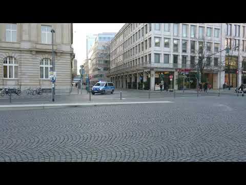 FuStW Polizei Frankfurt am Main mit S/L Wechsel