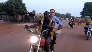 Siguiri 2015 - Taxi-moto de Siguiri à Saint Alexis (Guinée Conakry)