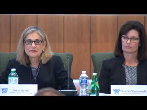 Jan. 27, 2017: 2020 Census Quarterly Program Management Review (Part 1)