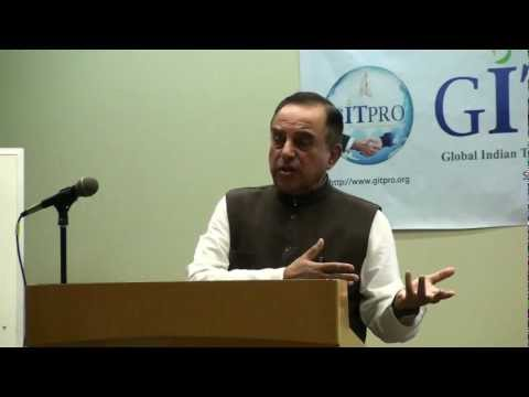 Dr Subramanian Swamy explains How Participatory notes are destroying Indian Share Market
