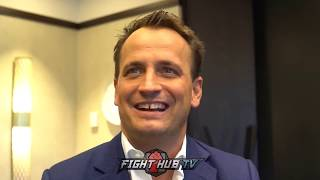 NISSE SAUERLAND - JOSH TAYLOR ONE OF THE UK'S BIGGEST BOXING TALENTS!