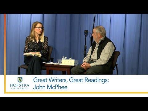 John McPhee: Great Writers, Great Readings