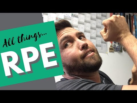 What Does RPE Training Mean?