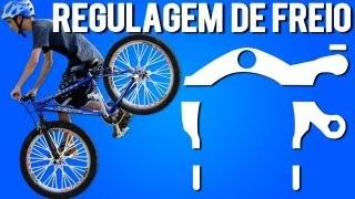 Regulagem de freio para aprender RL (Iniciantes / Wheeling Bike)