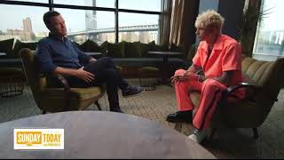 "Machine Gun Kelly New Interview About New Album ""Born With Horns"""