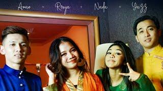 Hari Raya Kita Bahagia | Lagu Raya Baru- Yazz, Amar, Nada & Resya (official music video)
