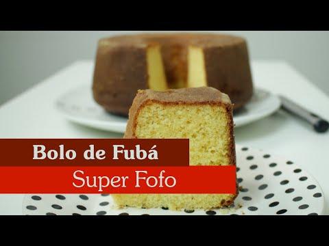 BOLO DE FUBÁ SUPER FOFO!