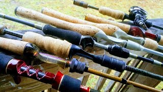 BFS bait finesse system rod shootout are these rods capable
