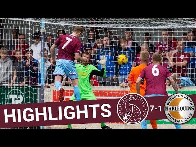 Extended Highlights: Taunton Town 7-1 Bemerton Heath Harlequins