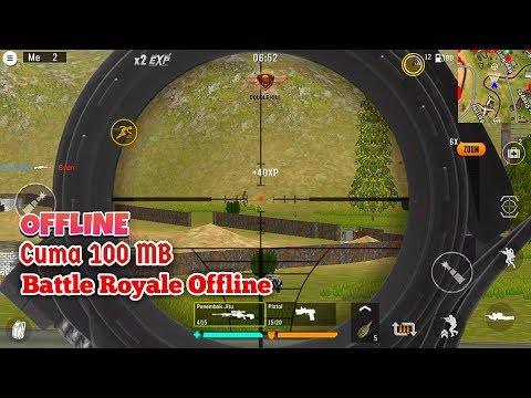 Cuma 100 Mb Game Battle Royale Offline + Mod Unlimited Money & Diamonds - 동영상