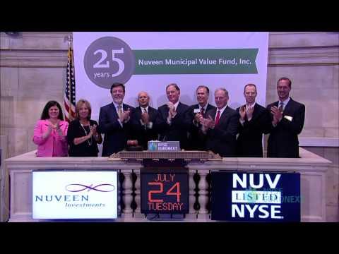 Nuveen Municipal Value Fund Celebrates 25th Anniversary