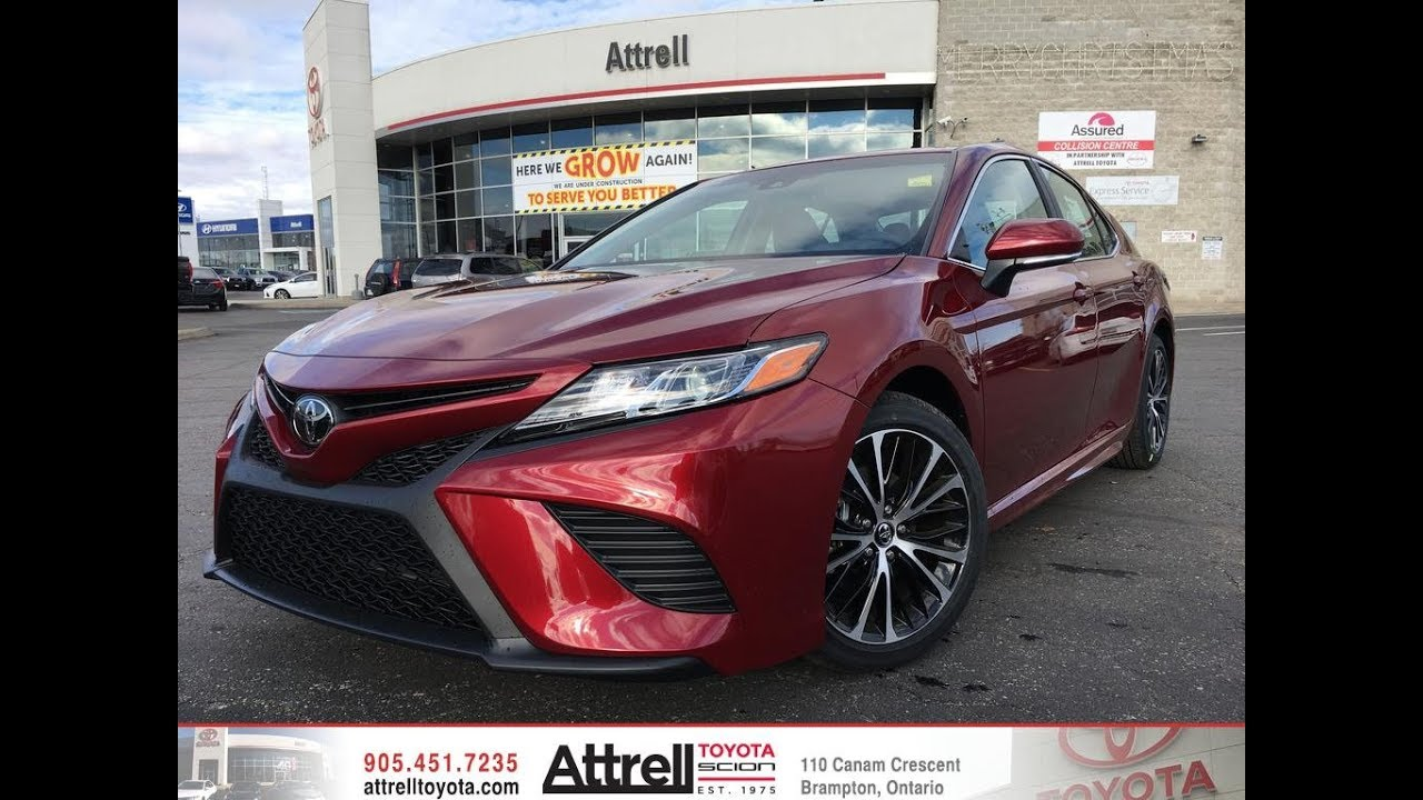 2018 Toyota Camry Se Upgrade Package Review Brampton On Attrell Toyota
