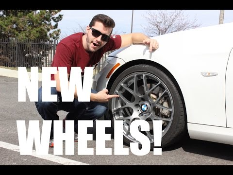 VMR 710s on My BMW 335i - New Wheels!