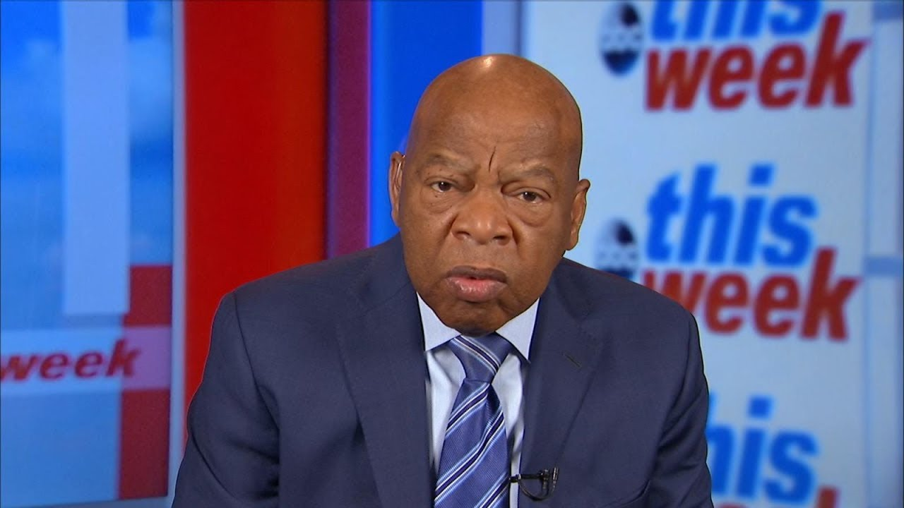 Rep. John Lewis calls Trump 'a racist' for his 's---hole countries' comment