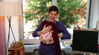 How to Wear the BabyHawk Infant Carrier