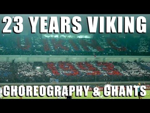23 Years Viking Choreography & Chants (Persib vs. Persija)