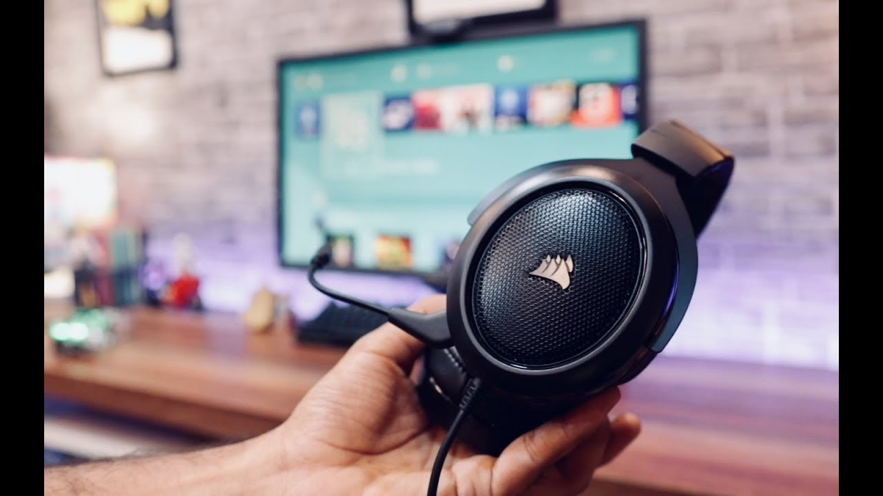 Best Headset For PS4 XBOX PC Gaming ( Corsair HS60 )