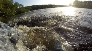 Peace full Fishing Missive OH NO!!! I FALL & SLIP Into The Drink