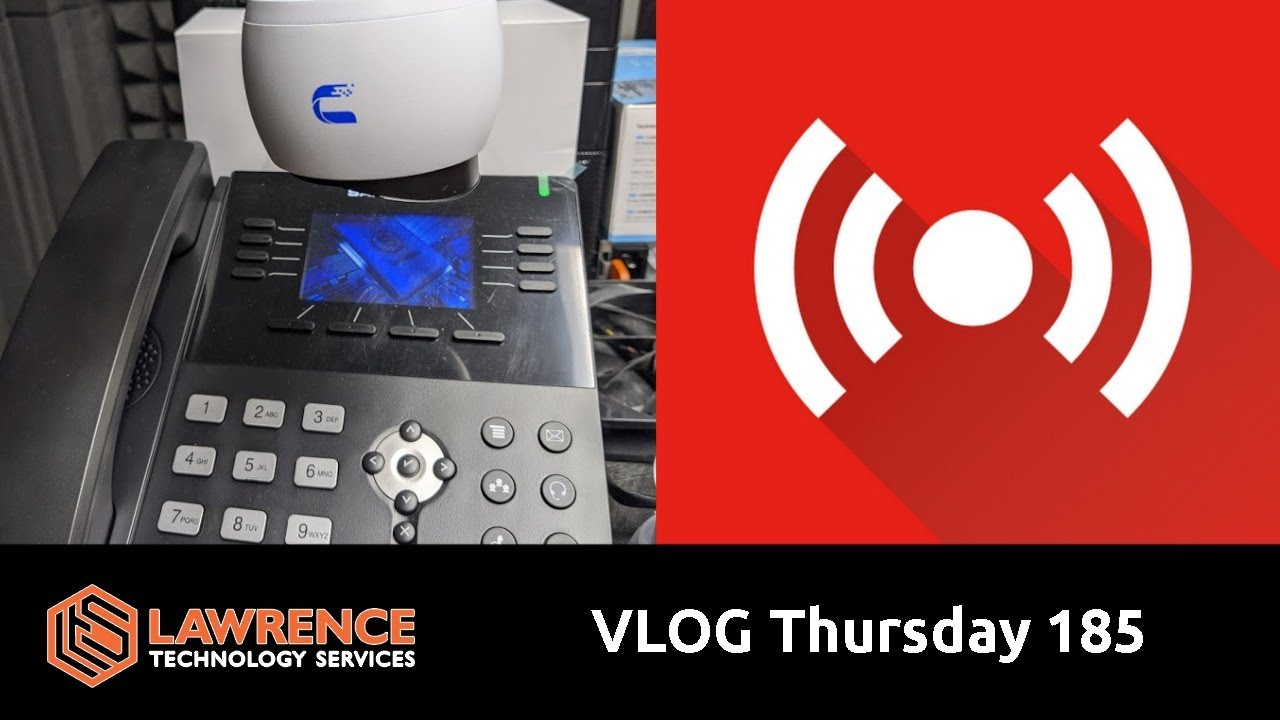 VLOG Thursday 185:UniFi Protect, Phone & SIP Talk, Business and Errata