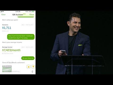 QuickBooks Connect 2017: Sasan Goodarzi, Executive VP and GM Small Business Intuit