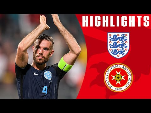 Malta 0-4 England (2018 World Cup Qualifier) | Official Highlights