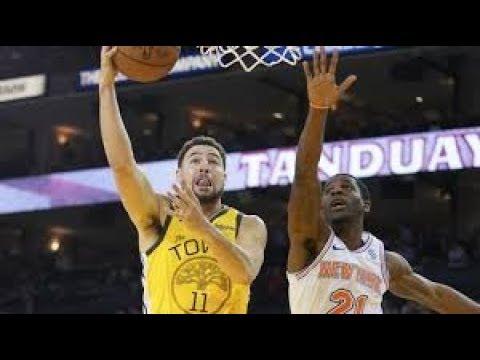 Golden State Warriors vs New York Knicks NBA Full Highlights (9th January 2019)