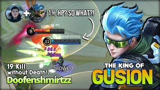 Perfect Hand, Gusion Crazy Skill Combo! Doofenshmirtzz King of Gusion ~ Mobile Legends