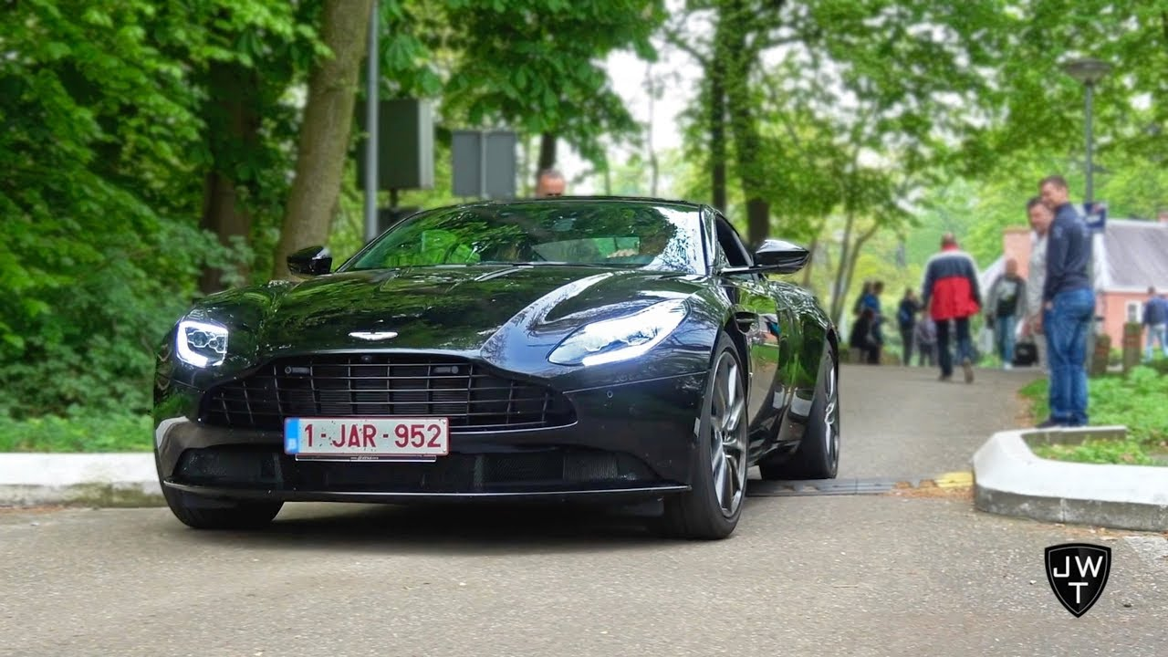 2017 Aston Martin Db11 Coupe Launch Edition Acceleration Sounds Youtube