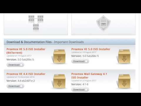 Proxmox VE 5 0 Installation & Setup - YouTube
