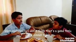 "Science skit(Junior)-""GARBAGE DIET"" by Indian School,RAK for UAE Children's Innovation Congress 2018"