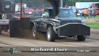 Central Illinois Truck Pullers - 2019 Macoupin County Fair - Carlinville, IL Truck Pulls