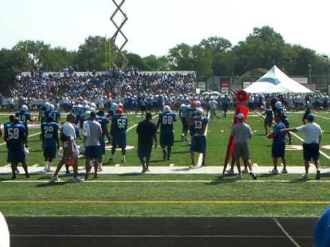 2010 Colts Training Camp Blue Vs. White Scrimmage