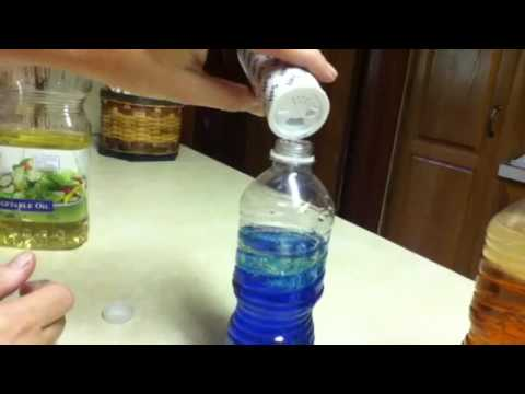 How to make lava lamps out of a water bottle youtube for What to make out of water bottles