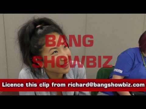 Kae Alexander BANG biz  at the London Film & Comic Con 2016