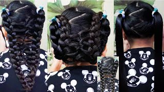 Interlocking Loop Ponytail