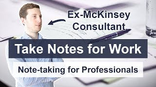 How to Take Notes for Work - Note-taking Tutorial for Professionals screenshot 4