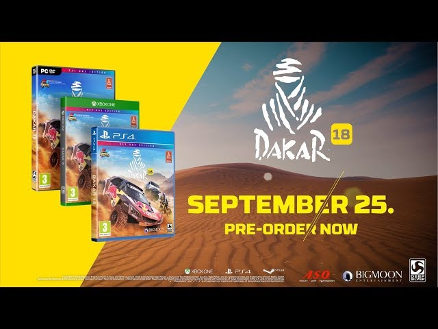 Dakar 18 Gameplay Trailer