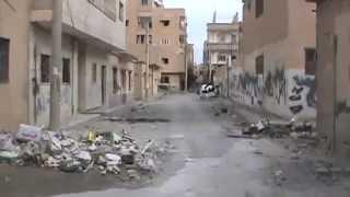 D.P.N || DEIR EZZOR CITY:: Destruction in Hamidiyeh Neighborhood Part2 18-11-2012