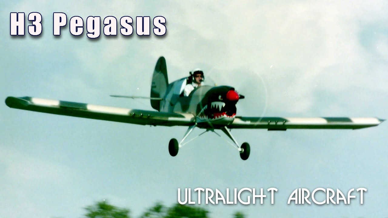 H3 Pegasus Low Wing Ultralight Aircraft By Bert Howland