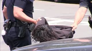 San Diego Police Respond To Brandishing A Deadly Weapon Call 7/8/2018