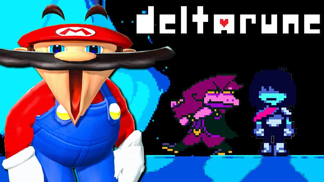 Mario Plays: Deltarune