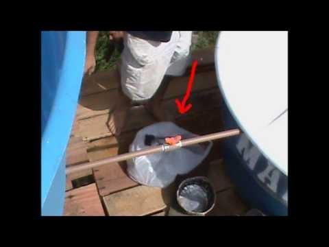 Vídeo tutorial do sistema de purificação da água do rio (natural)- UCODEP - Brasil