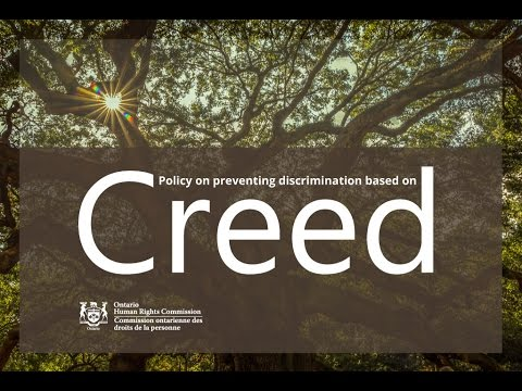 OHRC and HRPA webinar on preventing discrimination based on creed