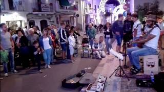 SOUTHSIDE OF HEAVEN - Edwin One Man Band - busker - Peschici - 2016
